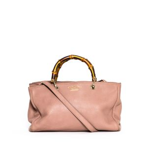 Bolsa-Gucci-Shopper-Bambu-Nude