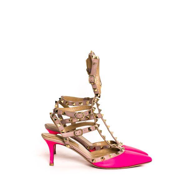 Scarpin-Valentino-Rockstud-Couro-Pink
