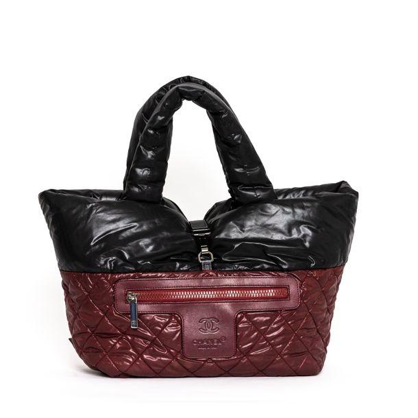 Bolsa-Chanel-Coco-Cocoon-Nylon-Preto