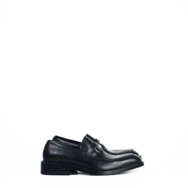 Sapato-Gucci-Couro-Preto-Bico-Quadrado