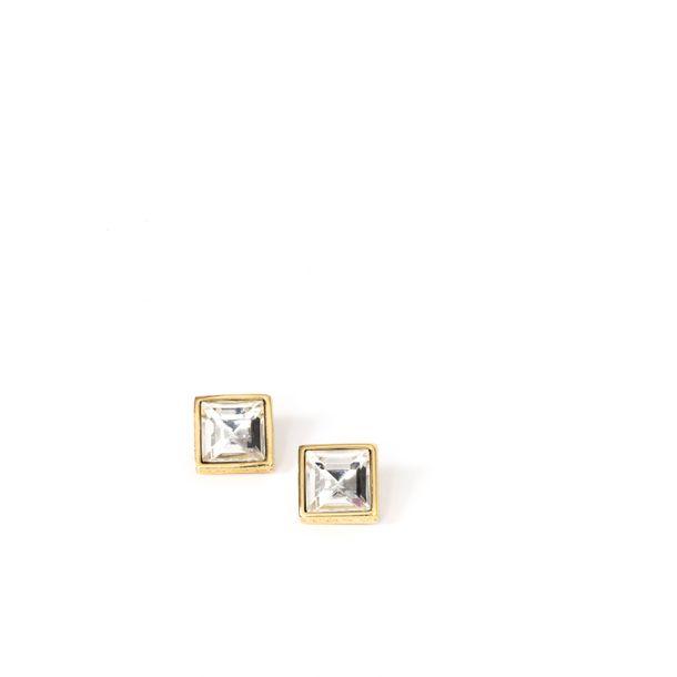 Brinco-Givenchy-Square-Dourado-Strass-Grande