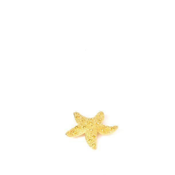 Broche-Swarovski-Estrela-do-Mar-Dourada