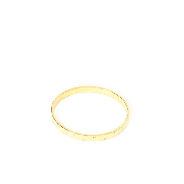 Bracelete-Swarovski-Strass-Dourado