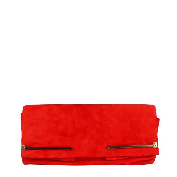 Clutch-Lanvin-Chamoix-Vermelho