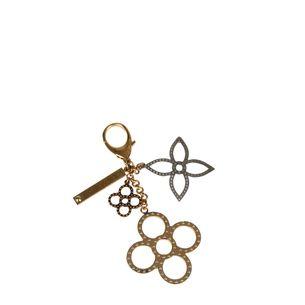Chaveiro-L.Vuitton-Metal-Dourado