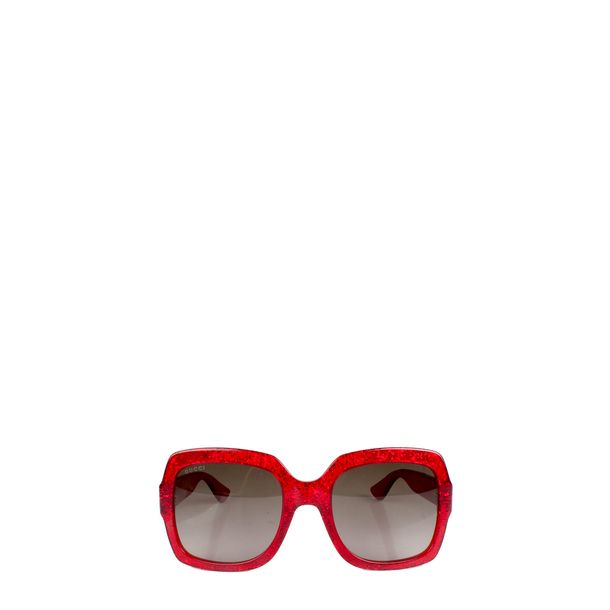 Oculos-Gucci-Acrilico-Vermelho