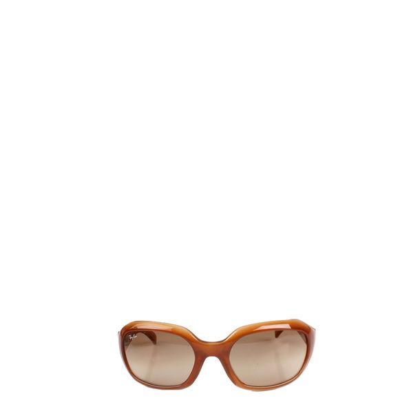Oculos-Ray-Ban-Acrilico-Marrom