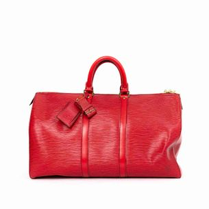Bolsa-Louis-Vuitton-Bau-Epi-Vermelha