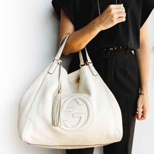 Bolsa-Gucci-Soho-Shoulder-Couro-Branco