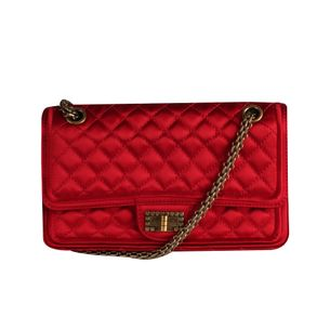 Bolsa-Tote-Chanel-Seda-2.55-Vermelha