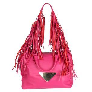 Bolsa-Tote-Sara-Battaglia-de-Couro-Pink