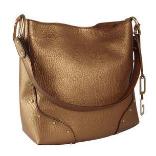 Bolsa-Dolce-Gabbana-de-Couro-Dourada