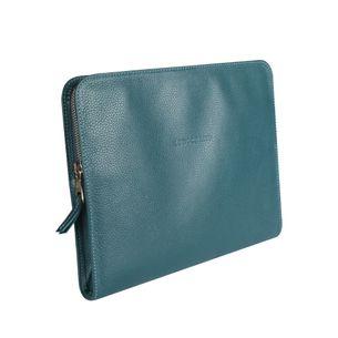 Estojo-Para-Ipad-Longchamp-de-Couro-Azul