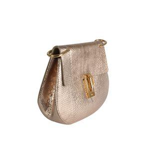 Bolsa-Tiracolo-Chloe-Couro-Dourada