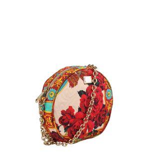 Bolsa-Tiracolo-Dolce---Gabbana-Tecido-Floral