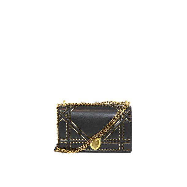 62494-Bolsa-Christian-Dior-Diorama-Couro-Preto-1