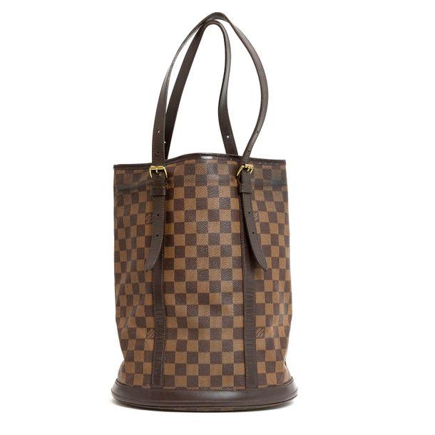 Bolsa-Louis-Vuitton-Bucket-Damier-Ebene