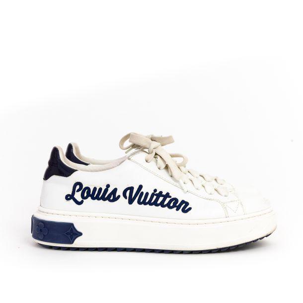 Tenis-Louis-Vuitton-Couro-Branco