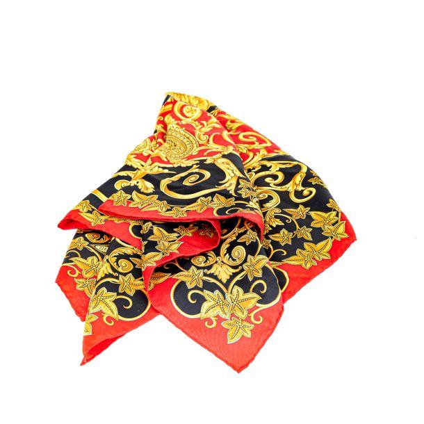 Lenco-Versace-Vermelho-Preto-e-Amarelo