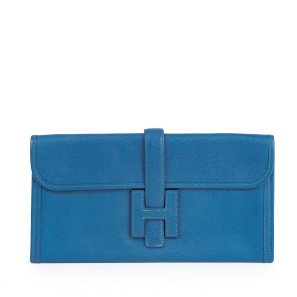 Clutch-Hermes-Jige-29-Azul