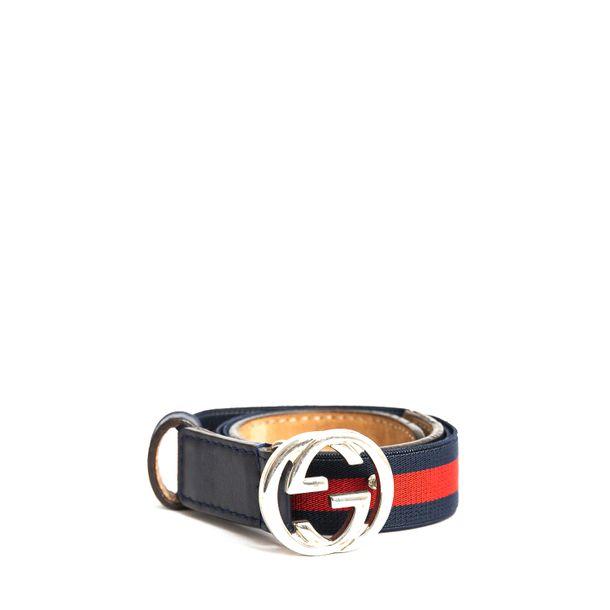 Cinto-Gucci-Infantil-Listras-Azul-e-Vermelha