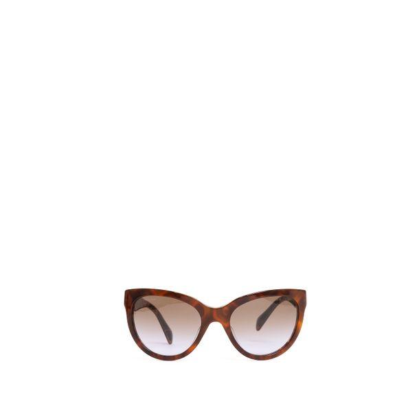 Oculos-Prada-Acrilico-Marrom