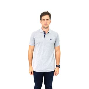 Camisa-Polo-Burberry-Cinza