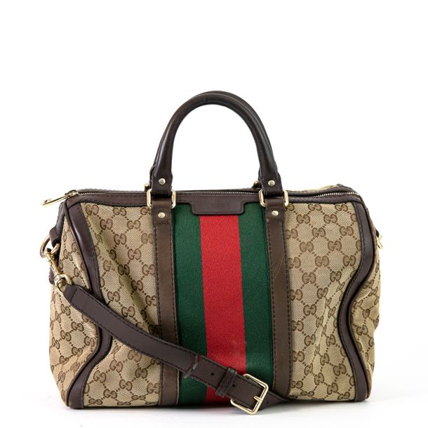 Bolsa-Gucci-Boston-Jacquard