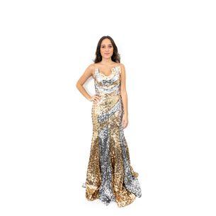Vestido-Andre-Lima-Paete-Prateado-e-Dourado