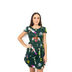 Vestido-Mary-Katranzou-Insetos-Verde