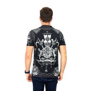 Camiseta-Dolce---Gabbana-Preta-e-Branca