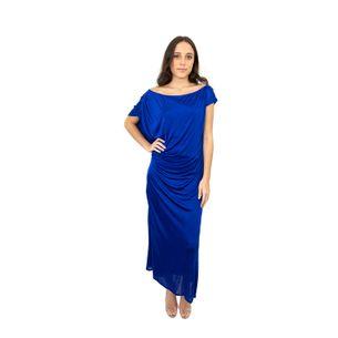 Vestido-Roberto-Cavalli-Longo-Azul