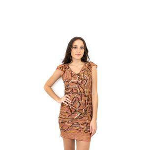 Vestido-Missoni-Estampado-Bronze
