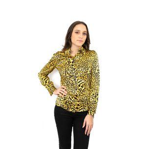 Camisa-Versace-Seda-Oncinha-Vintage