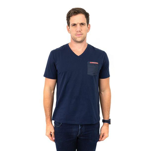 62310-Camiseta-Prada-Red-Stripe-Azul-Marinho-1