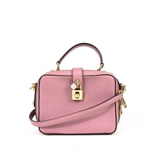 Bolsa-Dolce---Gabbana-Couro-Rosa
