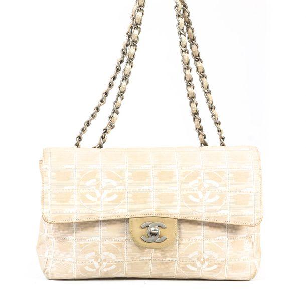 Bolsa-Chanel-CC-Bege