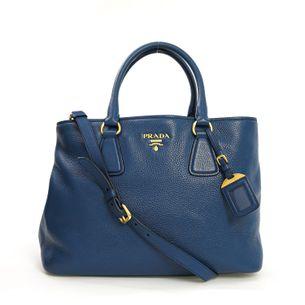 Bolsa-Prada-Tote-Couro-Azul