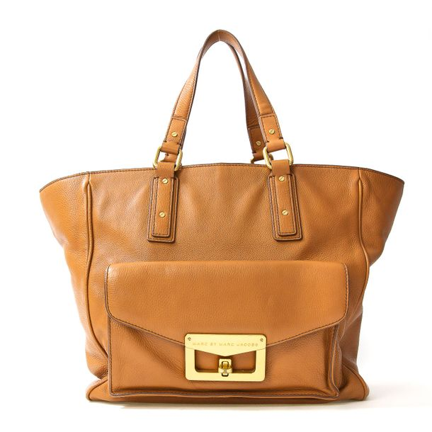 Bolsa-Marc-by-Marc-Jacobs-Couro-Caramelo
