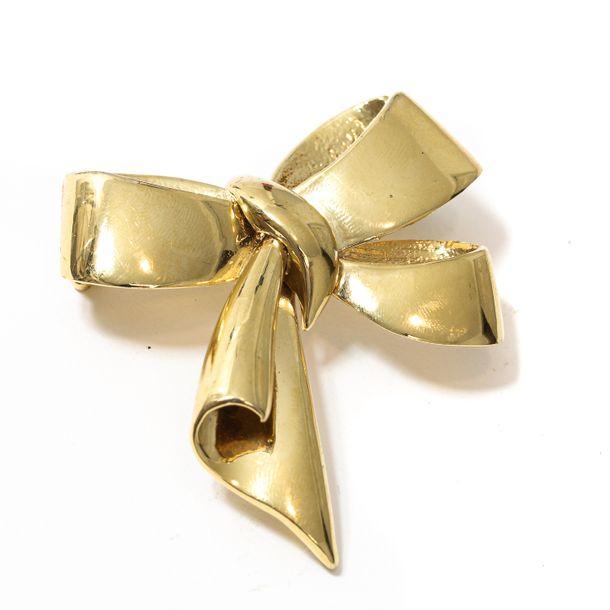 Broche-Laco-Dourado-Vintage