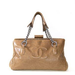 62446-Bolsa-Chanel-CC-Couro-Marrom-1