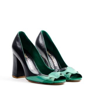 Scarpin-Sarah-Chofakian-Azul-e-Verde