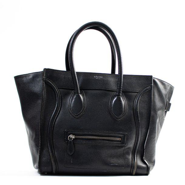 Bolsa-Celine-Luggage-Preta