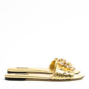 62843-Sandalia-Dolce-Gabbana-Dourada