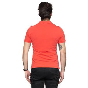 Camisa-Polo-Burberry-Laranja
