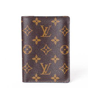 Porta-Passaporte-Louis-Vuitton-Monograma