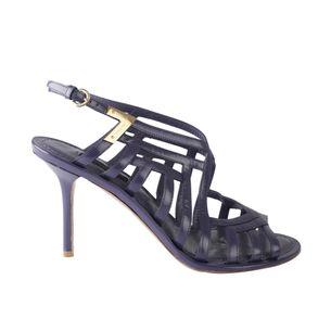 Sapato-Louis-Vuitton-Drapeado-Lilas