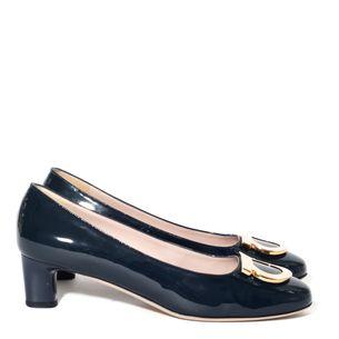 Sapato-Salvatore-Ferragamo-Verniz-Azul