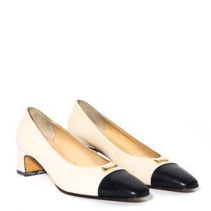 Sapato-Salvatore-Ferragamo-Couro-Bicolor