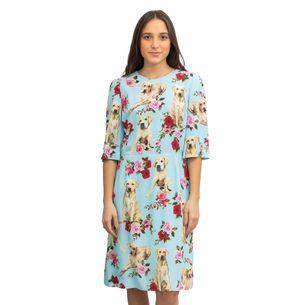 Vestido-Dolce---Gabbana-Cachorrinhos